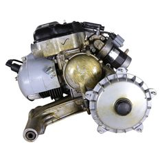 Engine, (150 cc  oil-injected 5 port w/electric start)