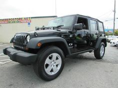 This 2008 Jeep Wrangler Unlimited X is listed on Carsforsale.com for $14,777 in West Palm Beach, FL. This vehicle includes 4wd Selector - Manual Hi-Lo, 4wd Type - Part Time, Abs - 4-Wheel, Airbag Deactivation - Occupant Sensing Passenger, Alternator - 140 Amps, Antenna Type - Mast, Anti-Theft System - Engine Immobilizer, Auxiliary Audio Input - Mp3, Axle Ratio - 3.21, Battery Rating - 600 Cca, Braking Assist, Cargo Cover - Retractable, Cargo Tie Downs, Center Console - Front Console With…