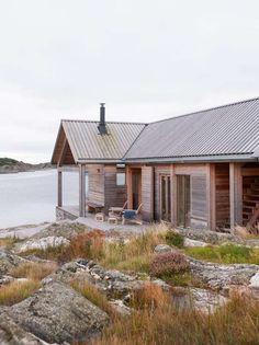 Fritidsbolig HVALER / Morfeus Arkitekter – nowoczesna STODOŁA   wnętrza & DESIGN   projekty DOMÓW   dom STODOŁA
