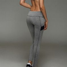 NEW - Quick Drying FITNESS Trousers / Leggings - For Active Sports - Breathable High Elasticity Fabric
