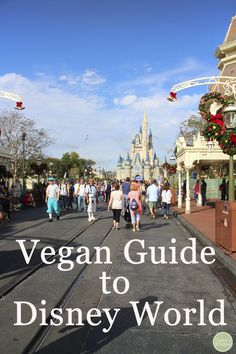 Vegan Guide to Disney World: What to eat in the Magic Kingdom | cadryskitchen.com #disneyworld #vegan