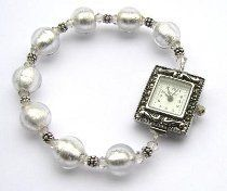 Try this simple, yet elegant, Crystal Watch project if you're new to jewelry making. It's a beautiful project that will make all your friends wonder where you bought it and a perfect start at making beaded jewelry for beginners!