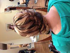 #updo #hair #braids