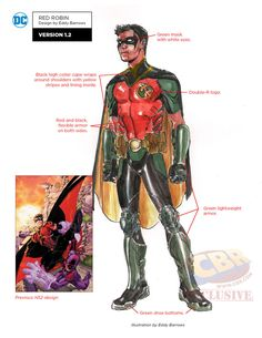 Images for : First Look at DC Rebirth Designs For Bizarro, Red Robin, Batman…