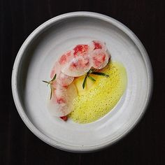 """Signe Birck (@signebirck) on Instagram: """"Poached lobster, pumpkin and terragon by @jlogue_nyc, from our last ever shoot at @betonynyc!…"""""""