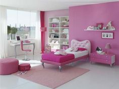 Modern Young Gilrs Room