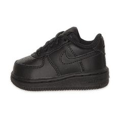 Toddler Nike Air Force 1 Low Basketball Shoes ($45) ❤ liked on Polyvore featuring baby, baby boy shoes, kids shoes and shoes