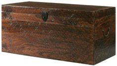 Maldives Trunk  Add Character to Your Home with the Rustic Appeal of This Coffee Table  Item # 02137