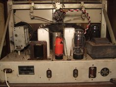 """Marconi M 49 """"Antique radio"""", """"Tube radio"""" Antique Radio, Mason Jar Lamp, Radios, Tube, Table Lamp, Retro, Antiques, Home Decor, Antiquities"""