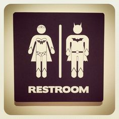 17 Of The Most Fabulous Gender Neutral Bathroom Signs