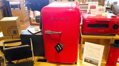 2台目の冷蔵庫 二子玉川 蔦屋家電にあったSMEGの小型冷蔵庫FAB5URR