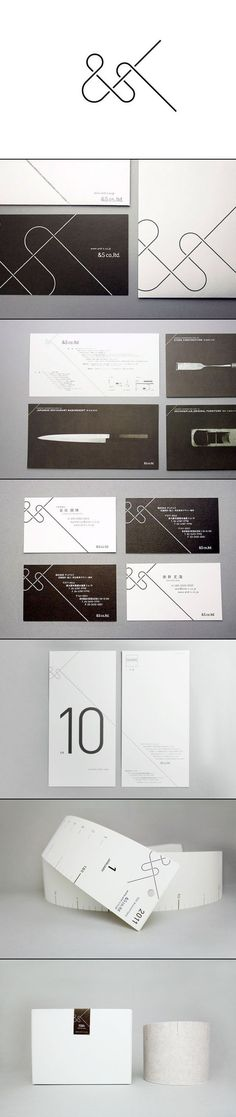 Branding & Identity for &S co,| typography / graphic design: SAFARI inc. |