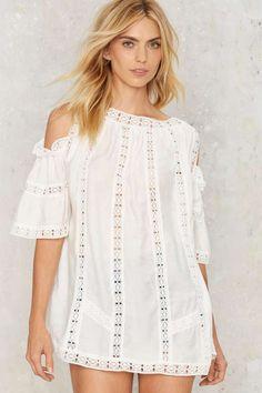 Fleetwood Crochet Lace Top - Clothes: Crochet