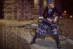Charlene Hogger by David Burton for Elle US January 2016 - Chanel Spring 2016