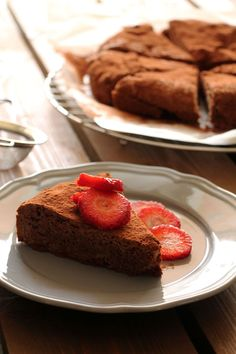 The one with all the tastes | Κέικ με ταχίνι (νηστίσιμο) Cocoa Cake, Tahini, The One, Deserts, Muffin, Food And Drink, Cooking, Breakfast, Recipes