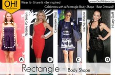 Are you the Rectangle body shape?  See other celebrities that have the same body shape as you!