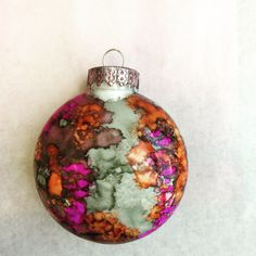 Alcohol Ink Christmas Ornaments.185 Best Christmas Ornaments Alcohol Ink Images Ornaments