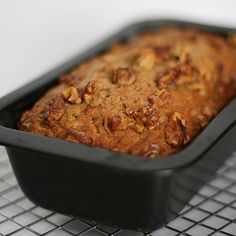 Pin for Later: 30 Edible Gifts You Can Make at the Last Minute Banana Nut Bread Want a gift that will drive your friends nuts? This easy-to-make banana nut bread is so delicious, they'll gobble it up. Make Ahead Brunch, How To Make Breakfast, Road Trip Snacks, Car Snacks, Banana Nut Bread, Popsugar Food, Edible Gifts, Quick Bread, Stick Of Butter