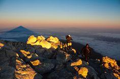 Sombra del Teide desde el Teide