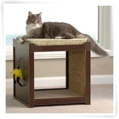 Sauder Modern Interactive Cat Cube