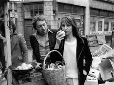Jane Birkin et Serge Gainsbourg!