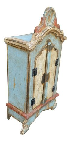 Hope Chest, Dolls, House, Home Decor, Wooden Crafts, Wood Art, Religious Art, Free Market, Antiquities