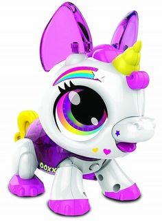 Pink Unicorn Toy Robot Electronic Tech Learning Age 5 Up Snap Together Set Pet Basicfun Unicorn Unicorn Toys