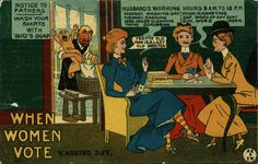 These Anti-Suffragette Postcards Warned Against Giving Women the Vote | Smart News | Smithsonian