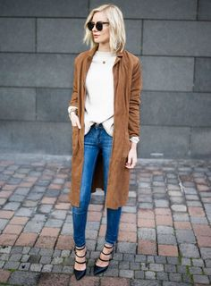 This Blogger Has the Best Quick Outfit Ideas via @WhoWhatWear