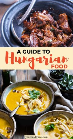 Foodie Travel 371828512988421873 - Traditional Hungarian Food You Need To Try – When it comes to Hungarian food, there isn't just one specific course you should aim for but instead you can enjoy a whole culinary affair. Croatian Recipes, Hungarian Recipes, Hungary Food, Hungary Travel, Food Dishes, Main Dishes, Hungarian Cuisine, European Cuisine, Romanian Food