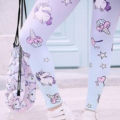 Cute unicorn pants Unicorn Leggings, Unicorn Outfit, Unicorn Headband, Women's Leggings, Unicorn Clothes, Unicorn Presents, Unicorn Gifts, Cute Unicorn, Unicorn Fashion