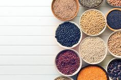protein and lentils