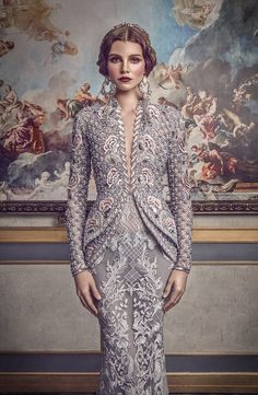 """Michael Cinco's Spring/Summer 2017 collection """"The Impalpable Dream of VERSAILLES"""" campaign images are as exquisite as the beautiful designs! More photos: http://senat.us/2v0hIrR"""