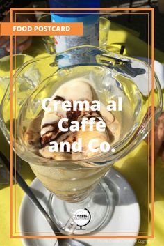 If you love coffee and ice cream, you absolutly have to taste Affogato al Caffè. It is a scoop of creamy vanilla gelato drowned (affogato) in a warm cup of rich aromatic Italian expresso. Unforgettable and so Italian!