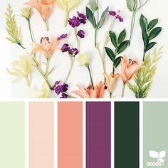 Fresh spring palette