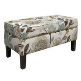 Found it at Wayfair - Skyline Furniture Gorgeous Fabric Storage Bench