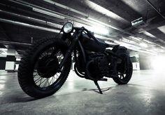 Fancy - Nero Motorcycle by Bandit9