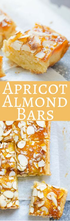 This simple apricot bar recipe is rich and buttery and unbelievably good! Easy to make and they won't last long!