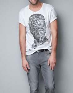 HEAD WITH ROOTS T-SHIRT