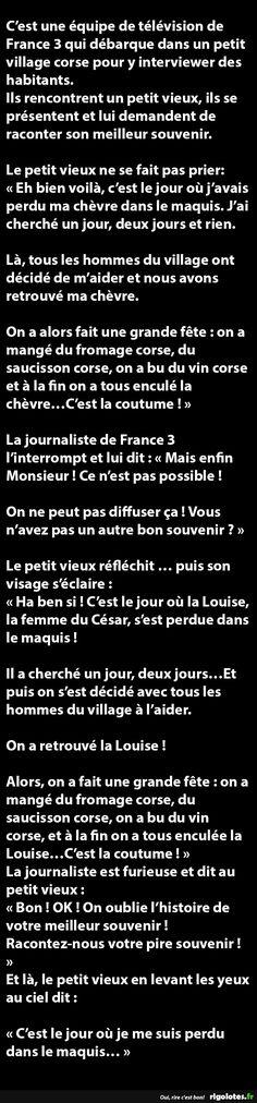C'est une équipe de télévision de France 3 qui débarque dans... - RIGOLOTES.fr