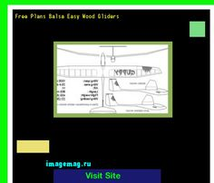 Free Plans Balsa Easy Wood Gliders 120642 - The Best Image Search