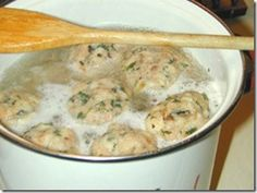 Tuesday recipe German Corner: Semmelknodel–German Bread Dumplings - 2 Boys + 1 Girl = One Crazy Mom Bread Dumplings Recipes, Dumpling Recipe, Ukrainian Recipes, Hungarian Recipes, German Dumplings, Gourmet Recipes, Cooking Recipes, Great Recipes, Favorite Recipes