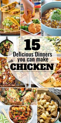 Chicken is a weeknight dinner staple in many people's homes, including mine. It can be served plain and simple (freshly roasted chicken, anyone?) or it can effortlessly add flavor to pasta, soups, casseroles, and more. Sometimes it's easy to fall into the same routines and we need a bit of inspiration to get us out [...]