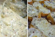 até Carne, Mashed Potatoes, Banana, Chicken, Meat, Ethnic Recipes, Food, Sopa Detox, Gabriel