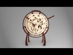 Riven - A Wooden Hypocycloid Clock