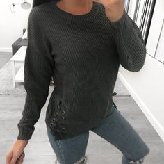 Tristen Sweater (charcoal)