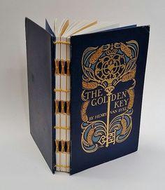 Art Nouveau  Wedding Guest Book  Golden by SecondChanceJournals
