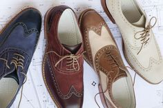 Cole Haan 2011 Spring/Summer Footwear Collection the brown ones are hot.