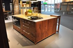 Küchenplatte Béton Ciré Original für Team 7.