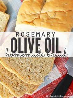 Recipe:+Rosemary+Olive+Oil+Bread